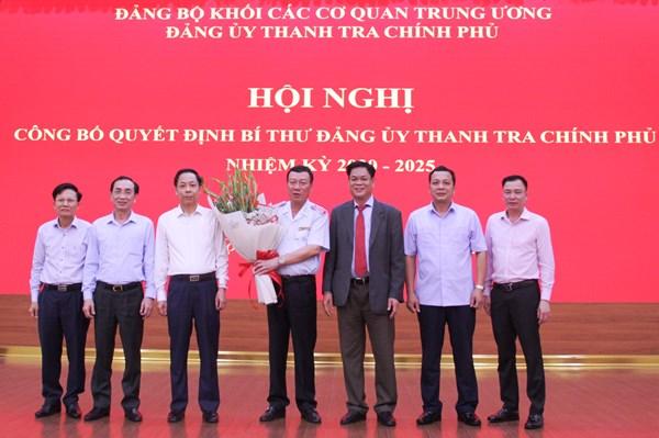 Chỉ định ông Đoàn Hồng Phong giữ chức Bí thư Đảng ủy Thanh tra Chính phủ