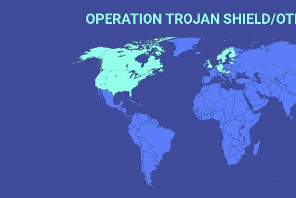 """Europol bắt hơn 800 đối tượng trong """"Chiến dịch Lá chắn Trojan"""""""