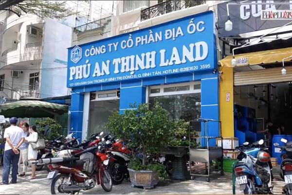 Đề nghị truy tố Tổng giám đốc Công ty địa ốc Phú An Thịnh Land