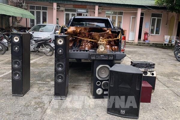 Thanh Hóa: Triệt xóa ổ nhóm dùng ô tô bán tải đi trộm cắp tài sản