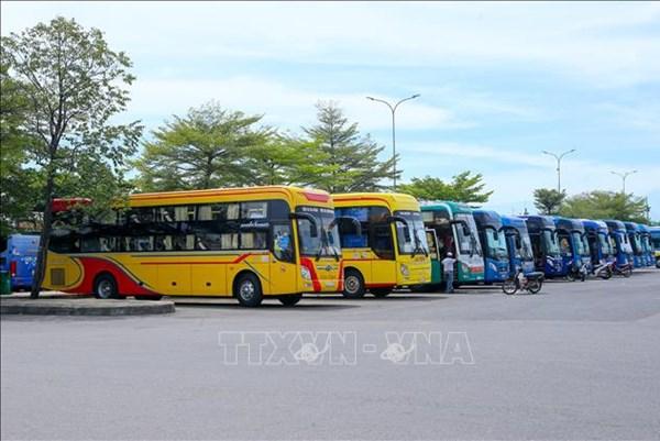 Dịch COVID-19: Khôi phục vận tải tuyến Đà Nẵng và Quảng Nam