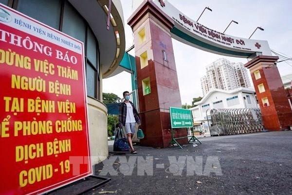 Tạm thời phong toả Bệnh viện Bệnh nhiệt đới TP Hồ Chí Minh