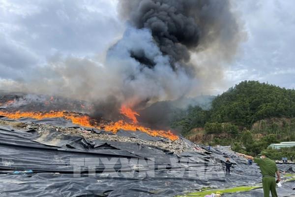Kết luận nguyên nhân cháy tại bãi rác lớn nhất Đà Nẵng