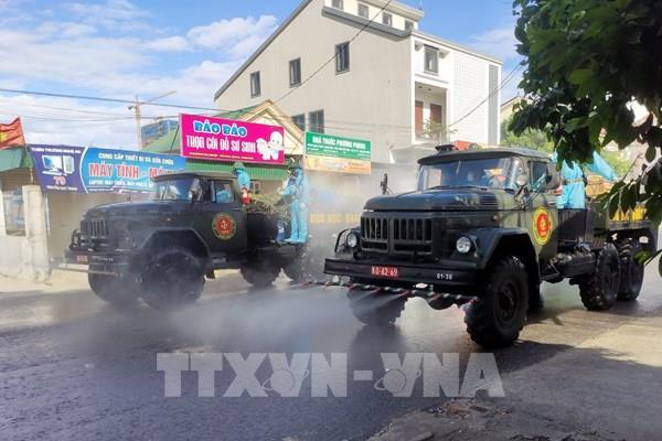 Giãn cách xã hội toàn bộ thành phố Vinh và huyện Diễn Châu từ 0 giờ ngày 17/6