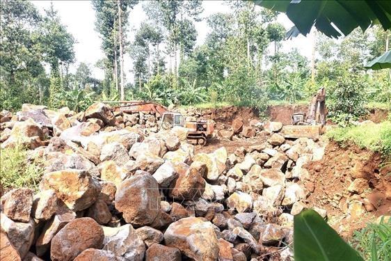 Phản hồi thông tin TTXVN: Đồng Nai xử lý nạn khai thác khoáng sản trái phép