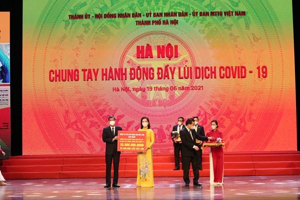 Sun Group ủng hộ Hà Nội 55 tỷ đồng mua vaccine phòng COVID-19