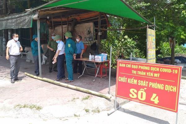 Hưng Yên: Thêm 2 trường hợp dương tính với SARS-CoV-2