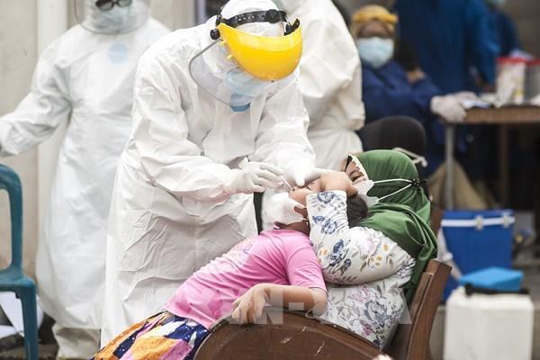 Indonesia ghi nhận ngày có số ca nhiễm mới COVID-19 cao chưa từng có