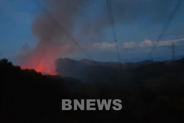 Cháy rừng tại Thừa Thiên - Huế nguy cơ ảnh hưởng vận hành an toàn điện