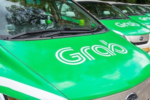 """Grab thử nghiệm dịch vụ gọi xe """"xanh"""" tại Singapore"""