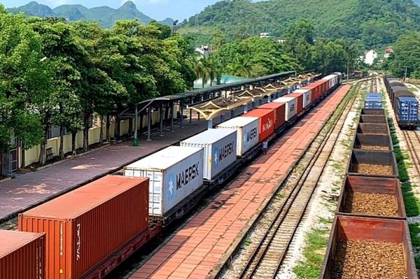 Đường sắt khai trương đoàn tàu container đầu tiên từ Việt Nam sang Bỉ