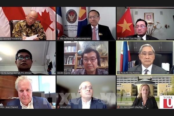 Kết nối Canada-ASEAN: Việt Nam nêu một số đề xuất về các lĩnh vực hợp tác