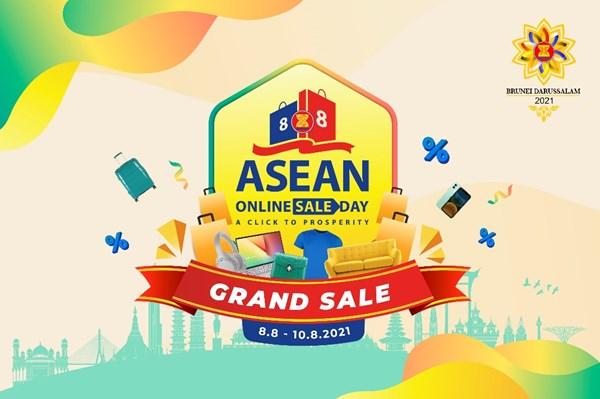 Ngày mua sắm trực tuyến lớn nhất ASEAN 2021: Hơn 300 doanh nghiệp tham gia