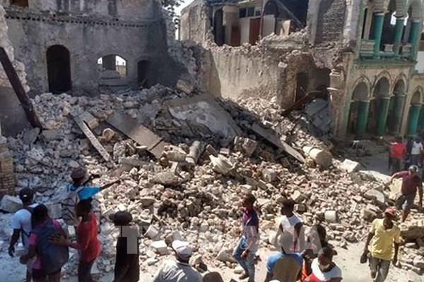 Số người thiệt mạng do động đất ở Haiti tăng lên 304 người