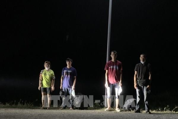 Tây Ninh bắt giữ 4 đối tượng nhập cảnh trái phép
