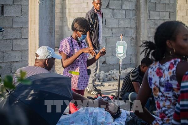 Động đất ở Haiti: Hơn 1.400 người chết, các bệnh viện quá tải