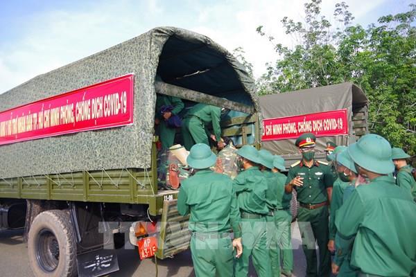 Gần 2.000 cán bộ, chiến sĩ Sư đoàn 5 hỗ trợ Tp Hồ Chí Minh chống dịch COVID-19