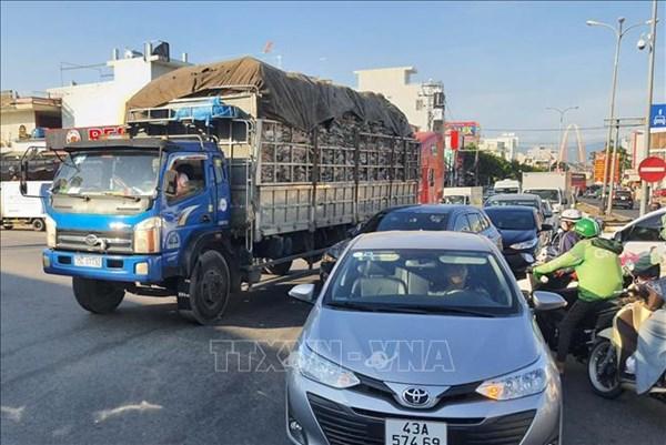 Phương tiện vận tải ô tô vào Đà Nẵng phải đăng ký trực tuyến