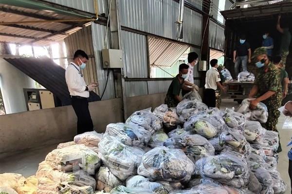 Sẵn sàng các phương án cung ứng thực phẩm cho Tp. Hồ Chí Minh và Bình Dương