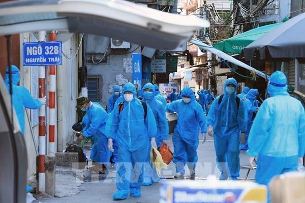 Chiều ngày 1/9, Hà Nội ghi nhận 9 ca mắc COVID-19 mới đều trong khu cách ly