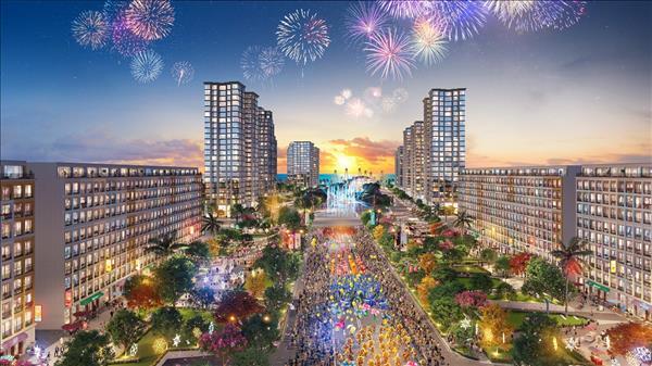 Thành phố nghỉ dưỡng mới sẽ cộng hưởng sức nóng của khu đô thị Sun Grand Boulevard