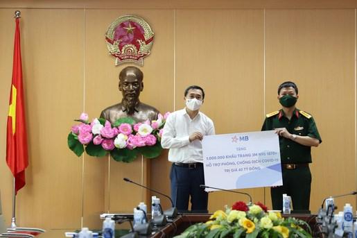 Dịch COVID-19: Bộ Y tế tiếp nhận 1 triệu khẩu trang N95 trị giá 40 tỷ đồng