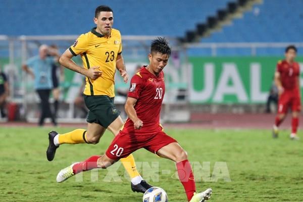 Đội tuyển Việt Nam thua sát nút đội tuyển Australia