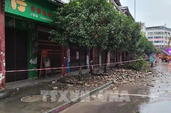 Ít nhất 6 người thiệt mạng trong trận động đất tại Trung Quốc
