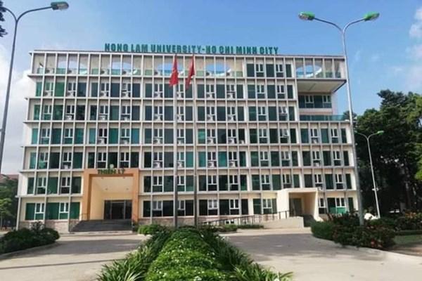 Điểm chuẩn Đại học Nông lâm TPHCM năm 2021