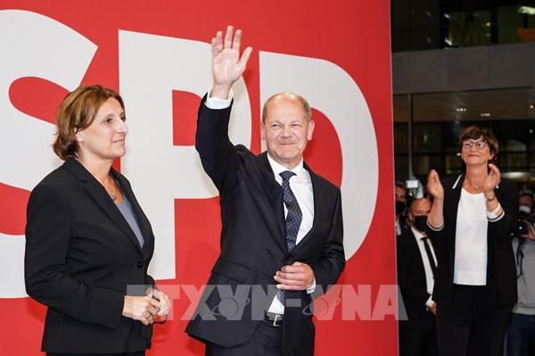 Bầu cử Quốc hội Đức: SPD tiếp tục dẫn đầu trong hơn 80% số phiếu được kiểm