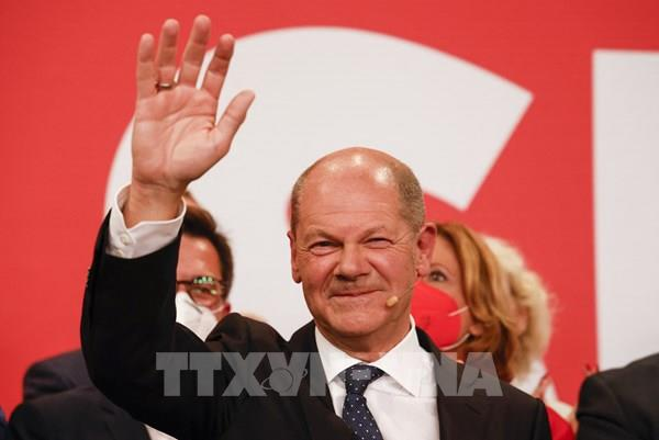 Bầu cử Quốc hội Đức: SPD giành chiến thắng