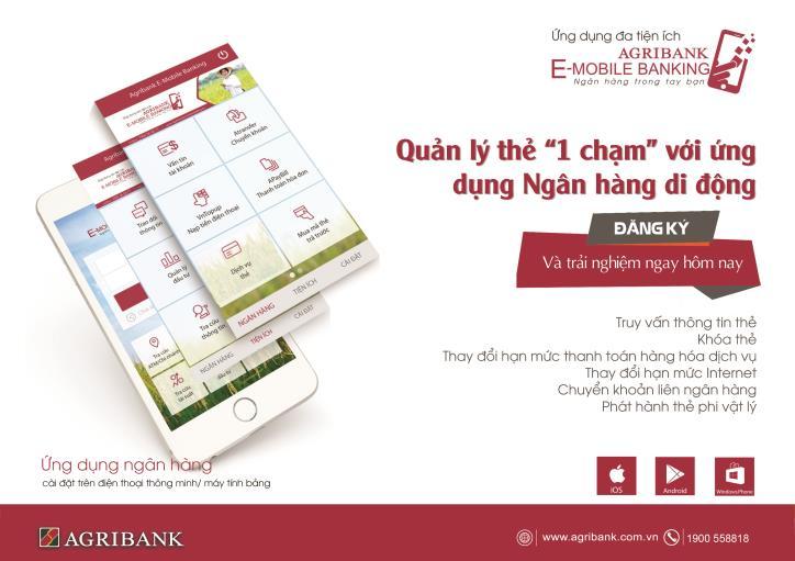 Những tính năng vượt trội trong phiên bản mới của Agribank E-Mobile Banking