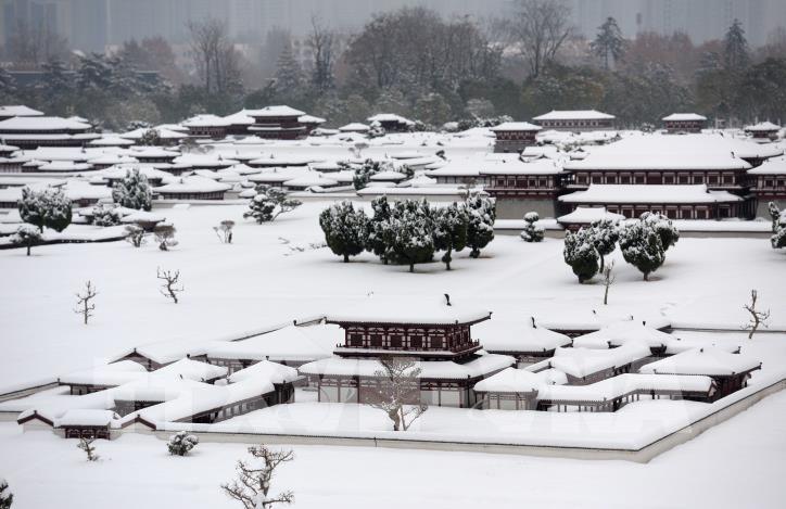 Tuyết rơi gây thiệt hại lớn ở Trung Quốc - hình 0