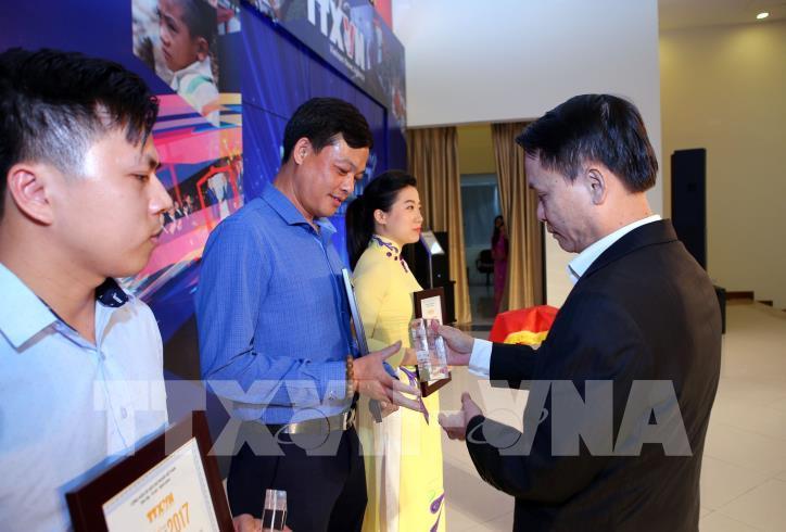 Lễ trao Giải báo chí Thông tấn xã Việt Nam 2017 - hình 3