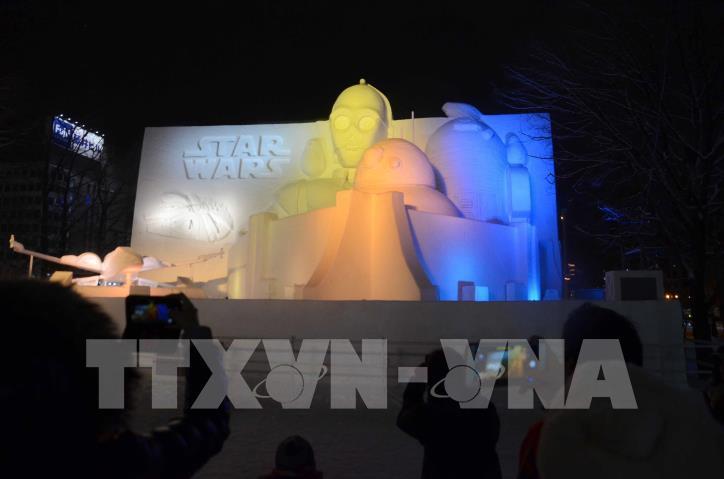 Ngắm các tác phẩm trong Lễ hội Tuyết Sapporo 2019 (Nhật Bản) - hình 1