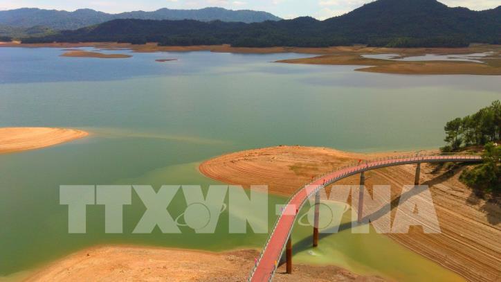 Hấp dẫn điểm du lịch xanh hồ Kẻ Gỗ - hình 4