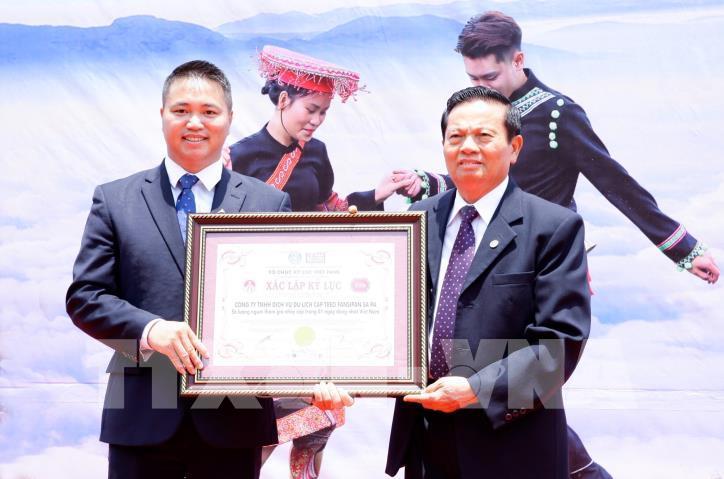 Hơn 6.000 người tham gia đã xác lập kỷ lục nhảy sạp tại Fansipan - hình 4