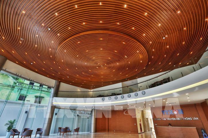 Khai trương Tòa nhà Trung tâm Truyền hình Thông tấn - hình 1