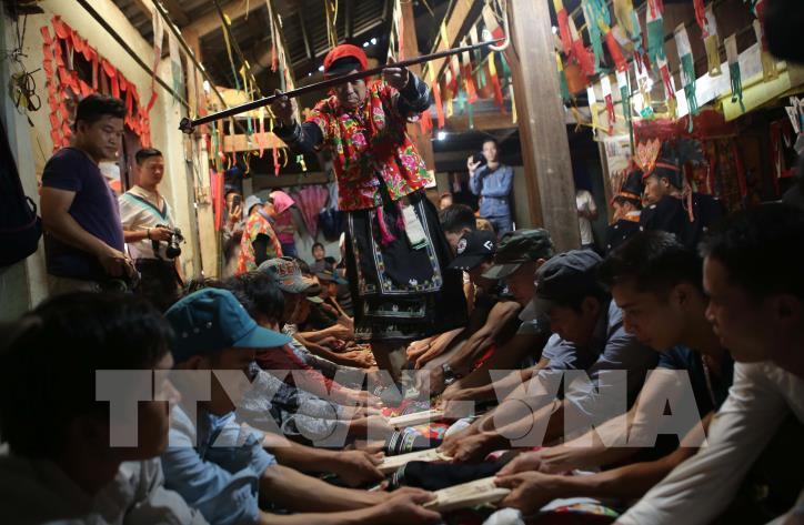 Độc đáo Lễ Tẩu sai của dân tộc Dao Tiền ở Cao Bằng - hình 3