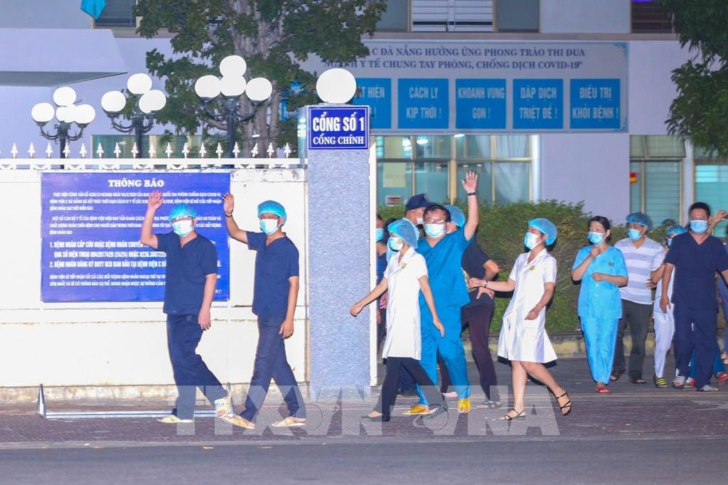 COVID-19: Bệnh viện C Đà Nẵng được gỡ lệnh phong tỏa