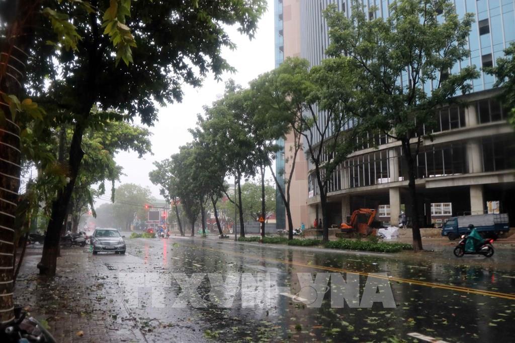 Bão số 5 đổ bộ vào đất liền gây mưa lớn, thiệt hại nhiều tài sản