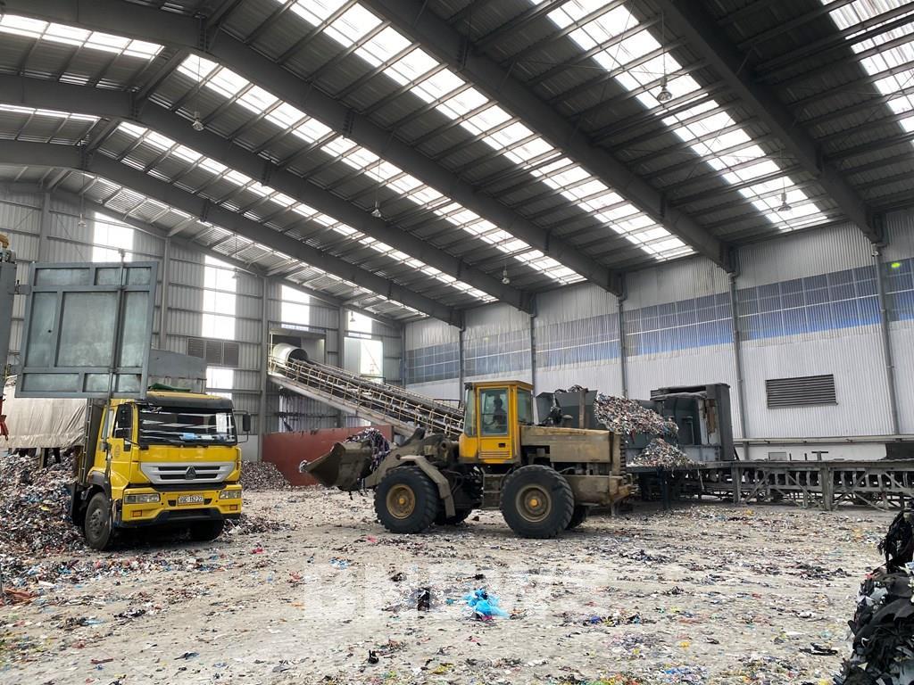 Vicem Bút Sơn xử lý rác thải để làm nhiên liệu
