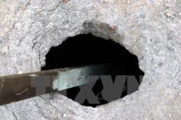 Quảng Ninh: Sụt lún đất ở Cẩm Phả là do vận động tự nhiên
