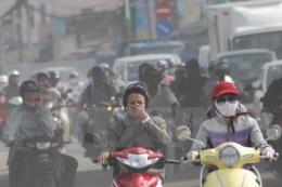 Cuối tuần, ô nhiễm không khí ở các tỉnh phía Bắc ở ngưỡng đỏ