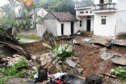 Hà Nội: Đã xác định được nguyên nhân gây sụt lún đất ở Mỹ Đức