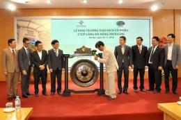 Chính thức niêm yết cổ phiếu Cảng Đà Nẵng tại Sở Giao dịch chứng khoán Hà Nội