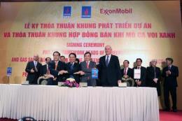 Ký thỏa thuận khung Phát triển dự án và bán khí mỏ Cá Voi Xanh