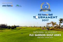 Tháng 3 sẽ diễn ra giải golf FLC Faros Golf Tournament 2017