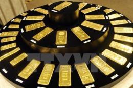 Giá vàng giảm tuần đầu tiên trong 5 tuần