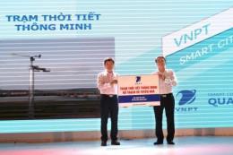 VNPT trao tặng Quảng Bình 2 trạm thời tiết thông minh